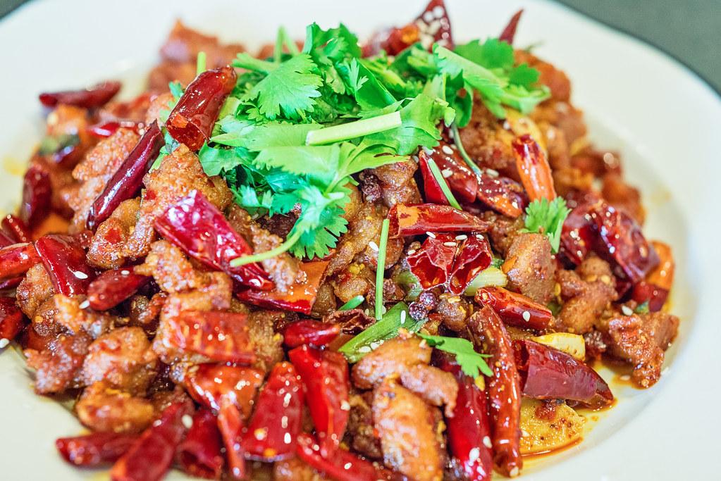 crispy spicy chicken mala sichuan bistro
