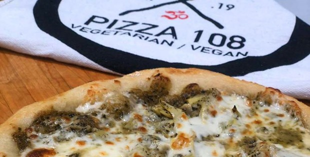Pizza 108 vegan