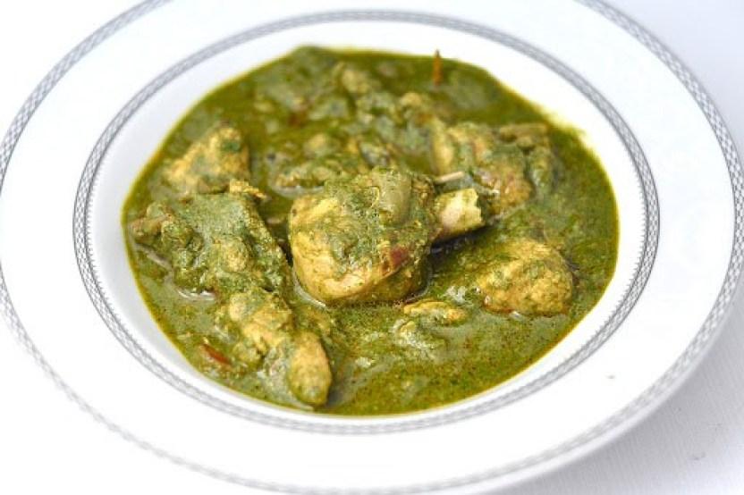 Palak-Chicken