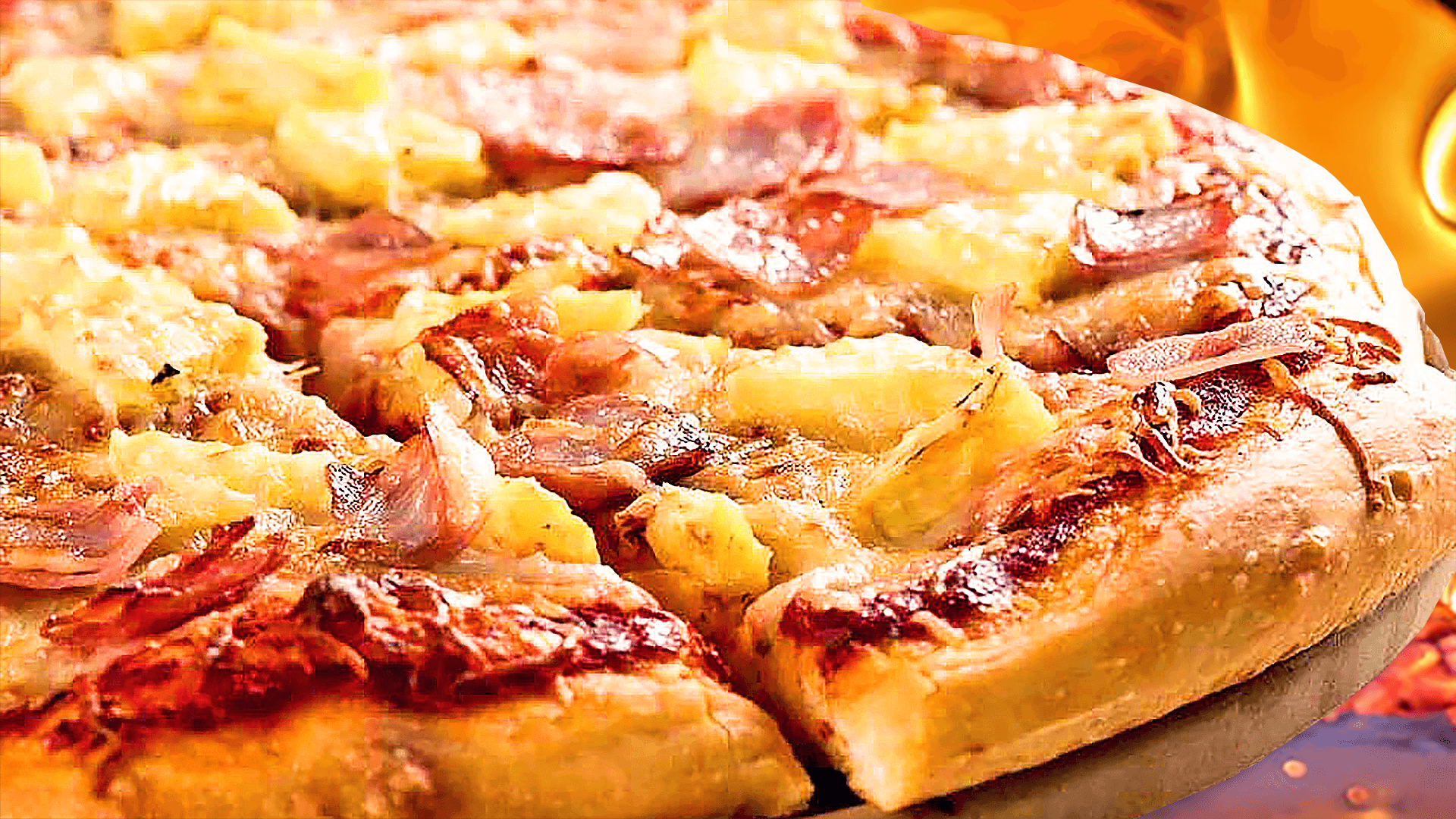 best hawaiian pizza ever
