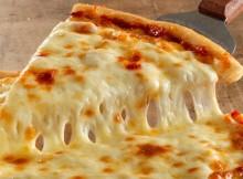 cheese pizza meltiness