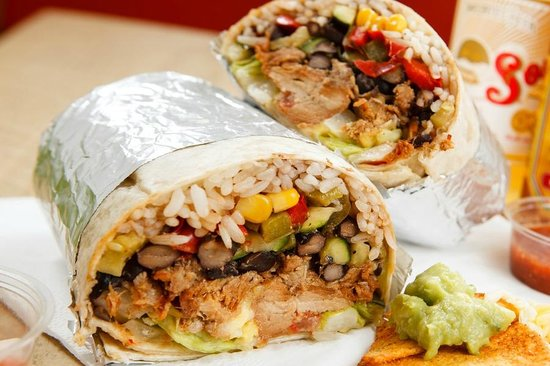 chicken burrito delivery