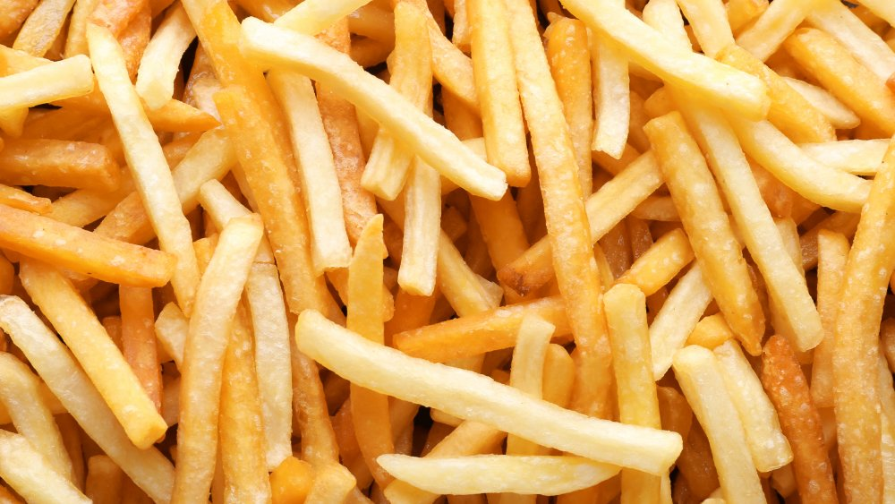 french fries most order dish in the usa