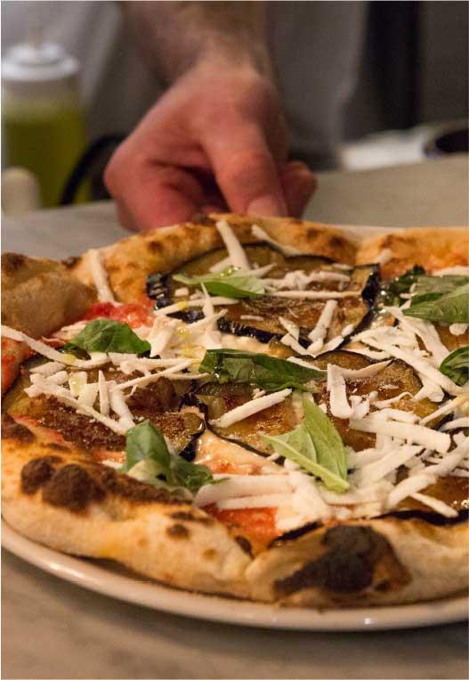 Norma Gastronomia Siciliana pizza