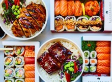 sushi and bowl takeout