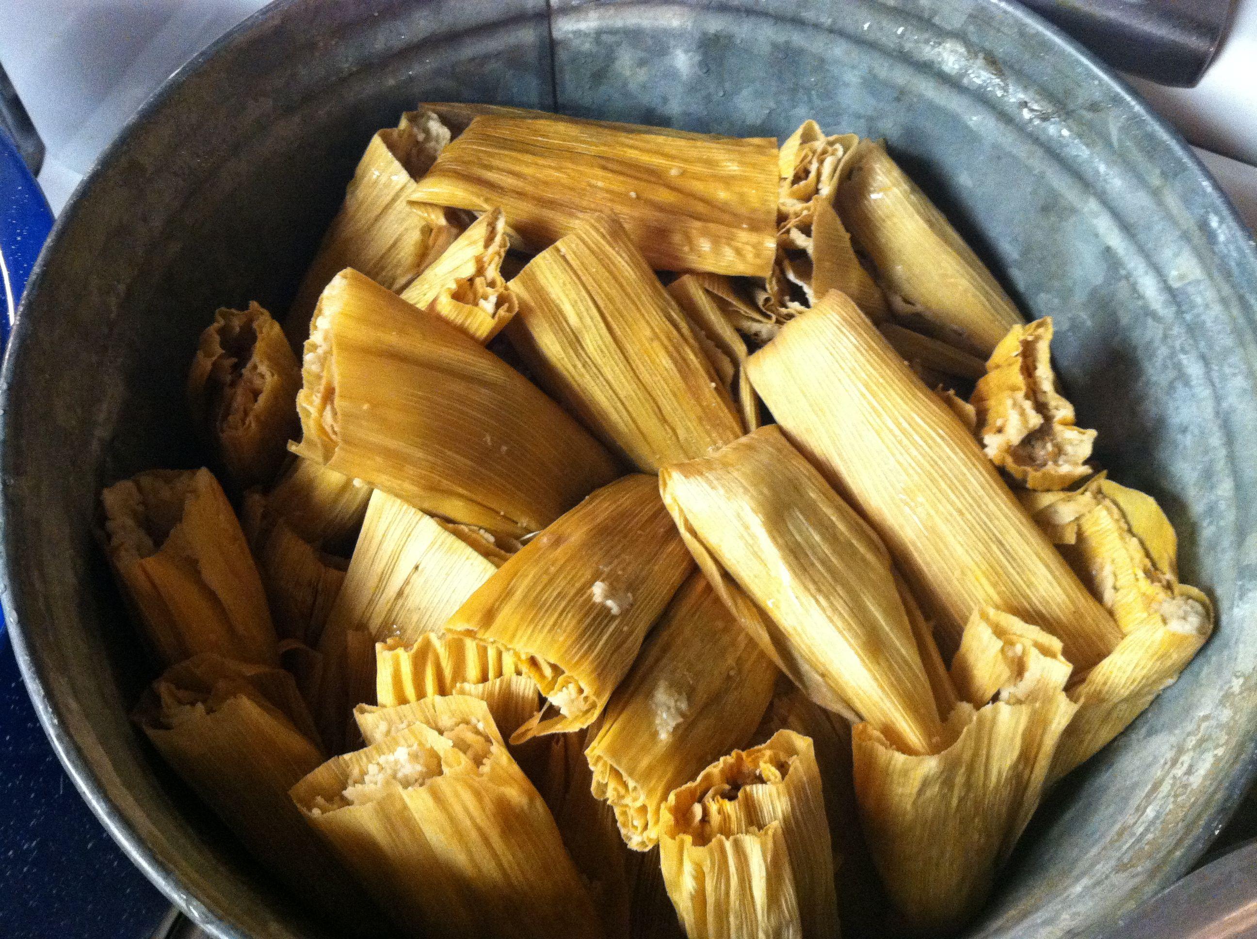 tamales mexican dish