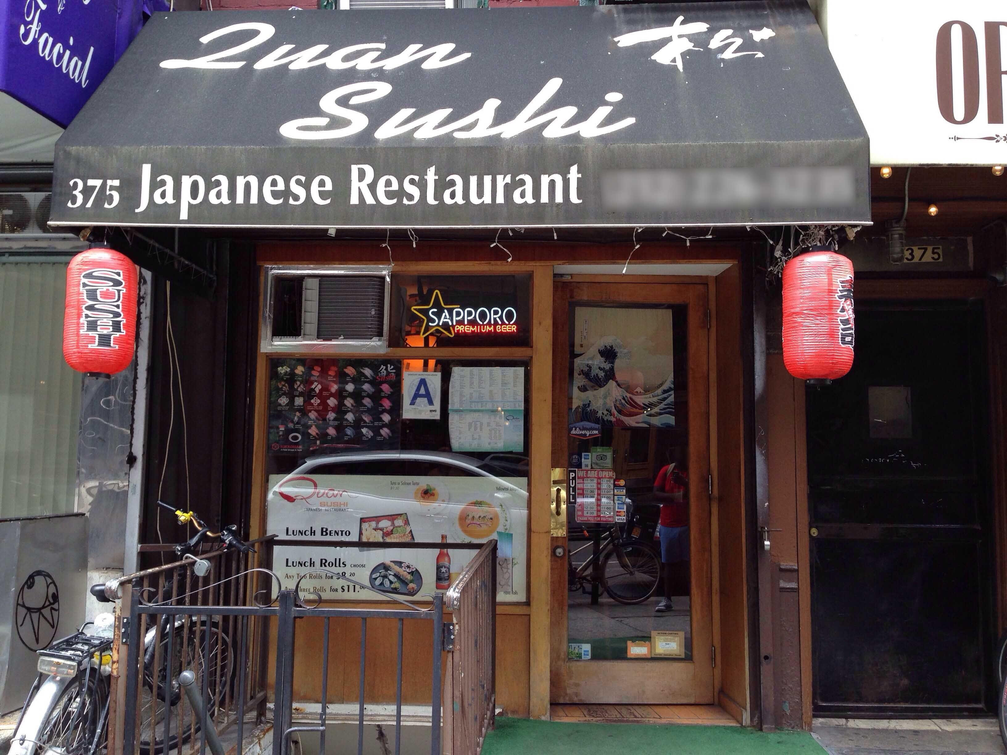 Top 5 sushi restaurants in Manhattan