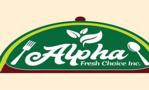 Alpha Fresh Choice Cafe