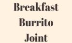 Breakfast Burrito Joint