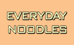 Everyday Noodles