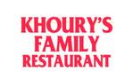 Khourys Restaurant