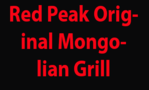 Red Peak Original Mongolian Grill